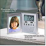 Recordable Travel Alarm Clock