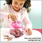 Electronic Counting Piggy Bank By Avon