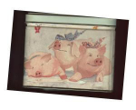 Three Pigs Collectible Tin