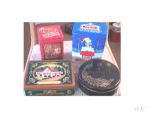 Lot Of 4 Advertising And Vintage Tins