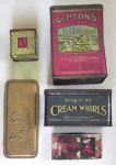 Lipton's, Cream Whirls, & Various Tins