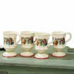 Sweet Country Harvest Pedestal Mugs