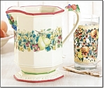 Country Harvest Pitcher And Glasses Set