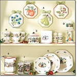 51-pc Country Harvest Dinnerware - New