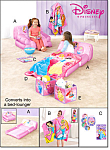 Disney Princess Slumber Bed And Accessories