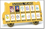 School Bus Photo Frame - New