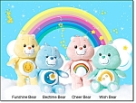Talking Care Bear Friends - Set Of 4 - New