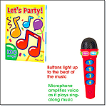 Party Microphone With Songbook