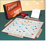 Scrabble/yahtzee Twin Play Board Game