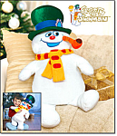 Frosty The Snowman Cuddle Pillow