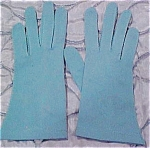 Turquoise Gloves