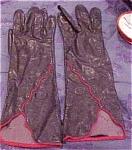 Fendi Leather Gloves
