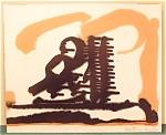 Boris Lovet Lorski Abstract Modern Art Watercolor