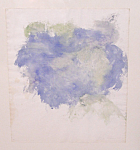 Jon Schueler Abstract Impressionist Landscape Watercolor C1960