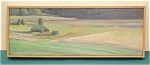 Sherry Palmer Cedars In The Marsh Oil On Canvas 1986