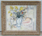 Zingg Still Life Floral Oil Painting On Canvas