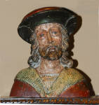16th Century Flemish Or French Wood Carving Sculpture Of A Man