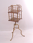 Art Nouveau Brass Rotating Bookcase C1880