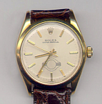 Rolex 14k Yellow Gold Oyster Perpetual Wrist Watch