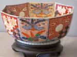 Japanese Imari Octagonal Shape Bowl C1860