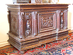 16th Century French Walnut Lift Top Chest