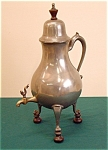 Early Dutch Pewter Chocolate Pot C1750