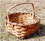 Antique Country Ash Field Basket C1875