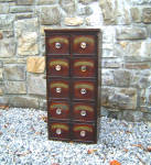 Small 19c English Apothecary Chest C1825 To 1860