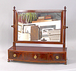 Federal Bow Front Dresser Mirror C1790