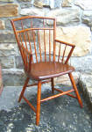 Eary American Country Bamboo Birdcage Windsor Chair C1820