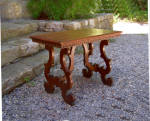 Italian Renaissance Revival Walnut Table C1870