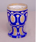 Bohemian Overlay Cased Glass Tumbler C1880