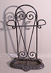 Victorian Cast Iron Umbrella Cane Stand C1865
