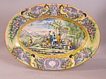 Italian Majolica Platter Faenza Circa 1850