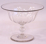American Blown Glass Compote