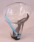 Contemporary Blown Glass Vase