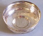 Rare Early Coin Silver Wine Tasting Cup With Coin