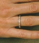 Tiffany And Company Diamond And Platinum Jewelry Eternity Ring