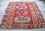 Bergamo Turkish Oriental Scatter Rug C1900