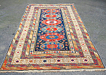 Shirvan Oriental Rug Or Carpet C1900 5.2 Inches By 9.5 Inches