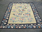 Thracian Killim Pale Yellow Rug Or Carpet 5 Feet 8 By 7 Feet Six