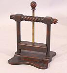 Antique Wooden Card Press C1880