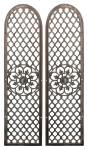 Antique Cast Iron Door Grilles