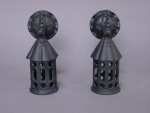 Iron Sconces..1 Pair