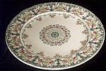 Gorgeous 1898 Cauldon Chintz Dinner Plate