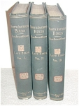 North American Birds - Land Birds - 1st Edition - 1874 - 3 Volumes Set