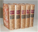 The Dramatic Works Of William Shakspeare (1852 & 1857 Edition) 5 Vol. Set