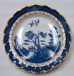 Booths Real Old Willow Blue Willow Dinner Plate
