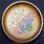 Hand Painted Wood Plate