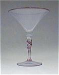 Steuben Opal Cintra Martine Glass